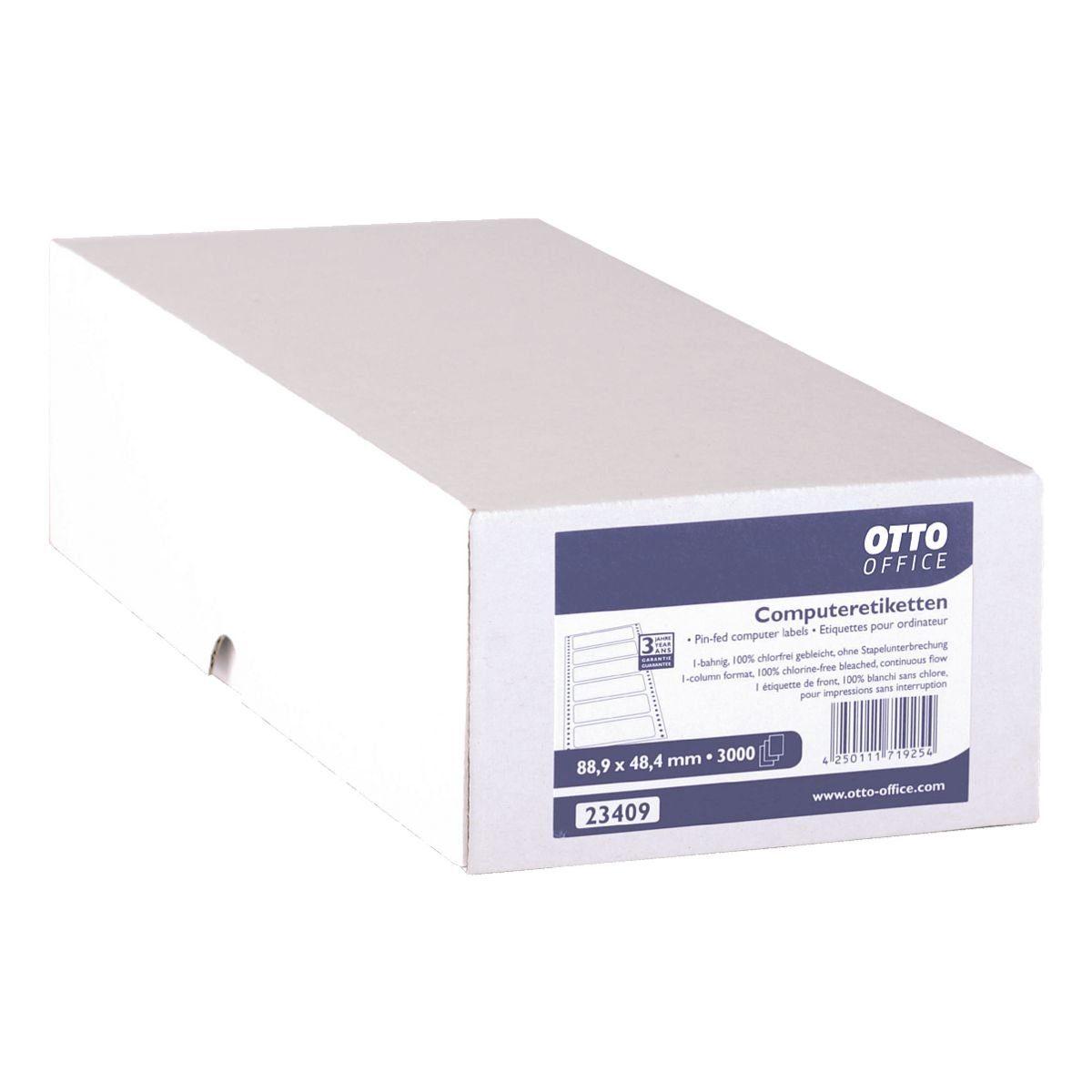 OTTOOFFICE STANDARD 3000er-Pack Endlosetiketten