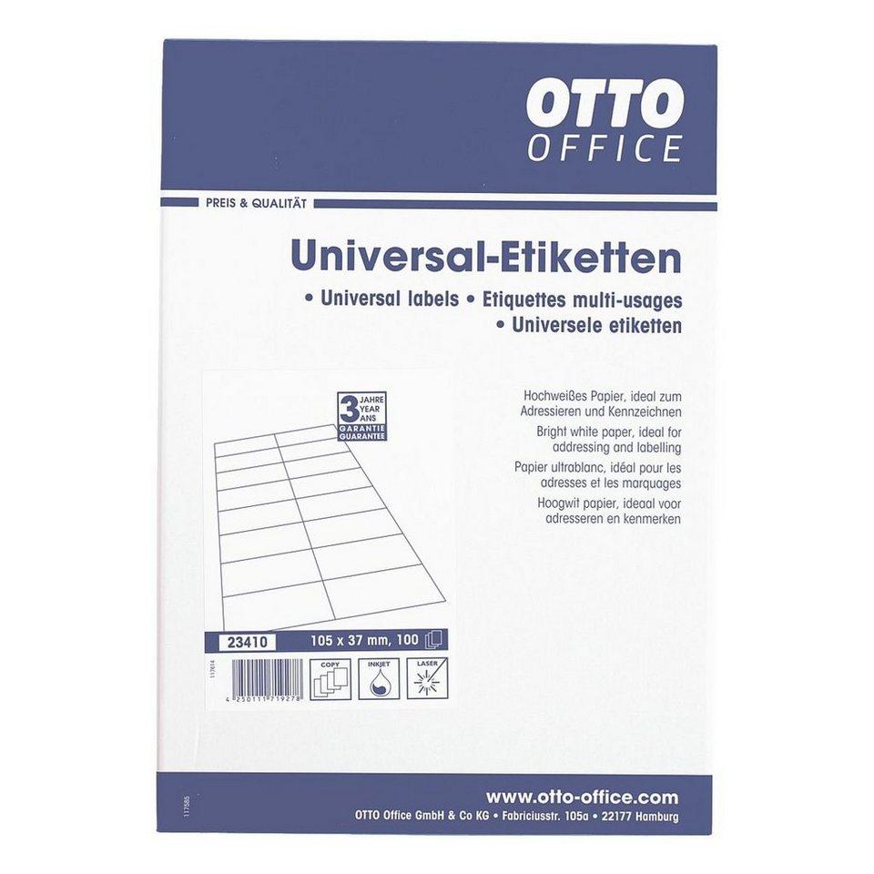 OTTO Office Standard 1600er-Pack Universal Klebeetiketten