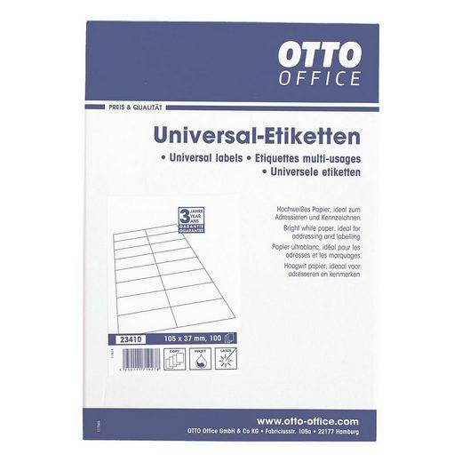 OTTOOFFICE STANDARD 1600er-Pack Universal Klebeetiketten