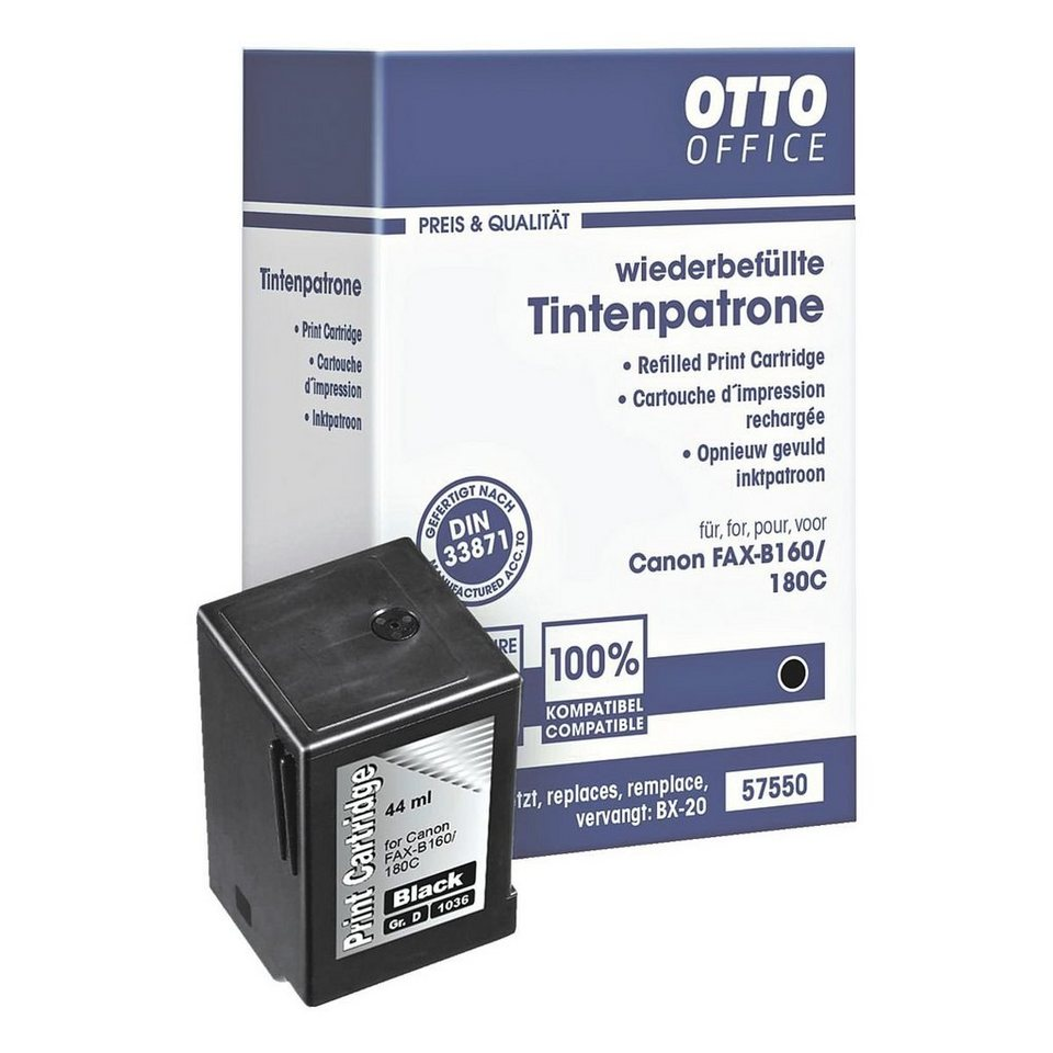 OTTO Office Standard Tintenpatrone ersetzt Canon »BX-20«