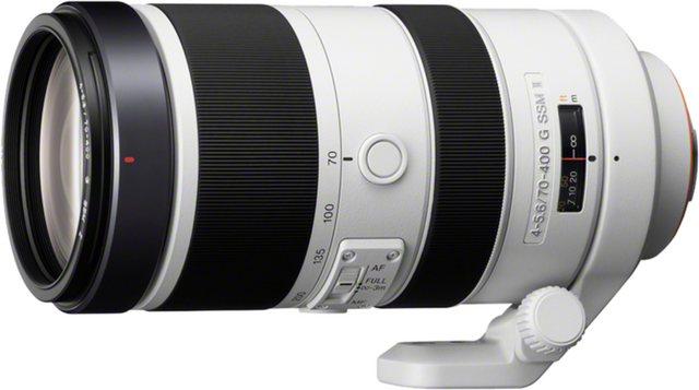 Objektive - Sony Objektiv »Vollformat Teleobjektiv 70 400 mm F4 5,6«  - Onlineshop OTTO