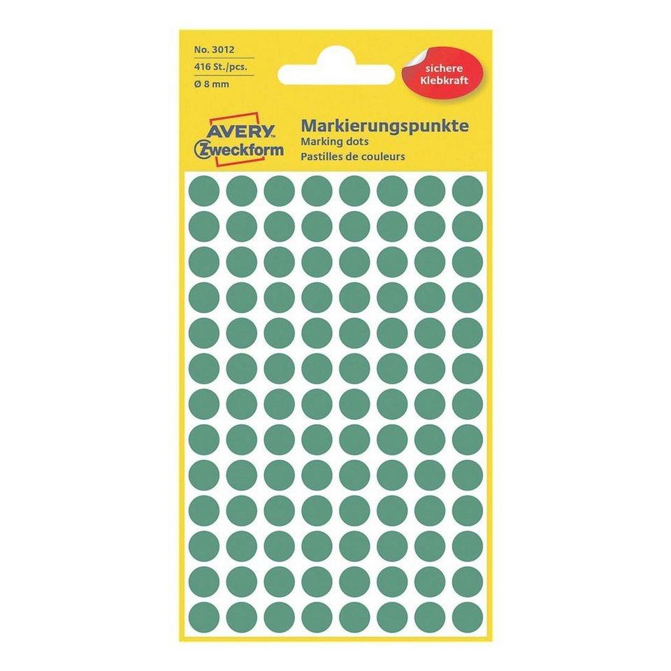 Avery Zweckform Markierungspunkte in grün