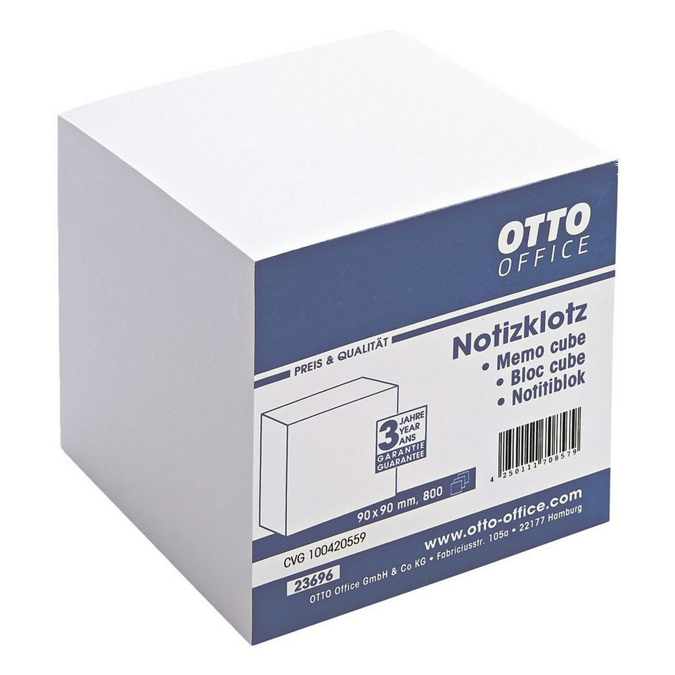OTTO Office Standard Notizklotz