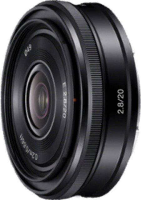 Objektive - Sony Objektiv »E Mount APS C Festbrennweite 20 mm F2.8«  - Onlineshop OTTO