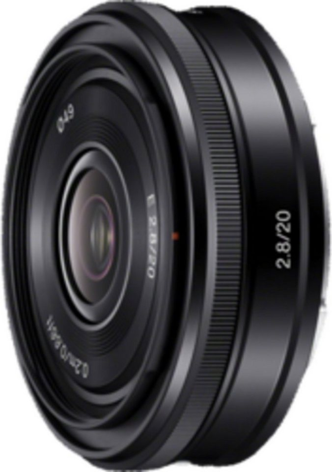 Sony Objektiv »E-Mount APS-C Festbrennweite 20 mm F2.8