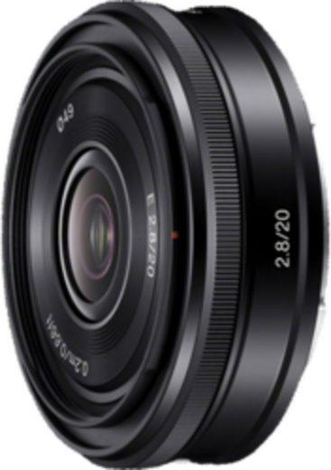 Sony Objektiv »E-Mount APS-C Festbrennweite 20 mm F2.8«