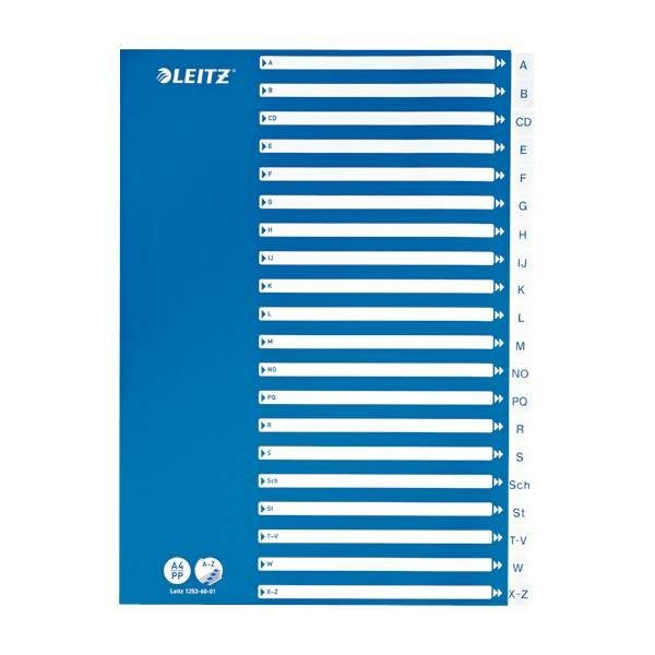 Leitz Kunststoffregister A-Z A4 »1253«