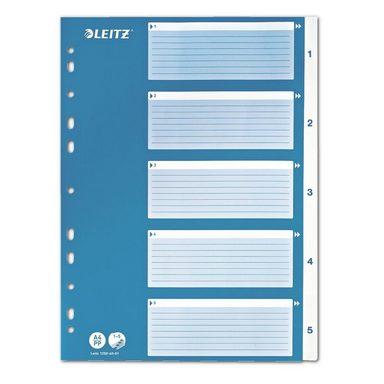 LEITZ Kunststoffregister 1-5 A4 »1250«
