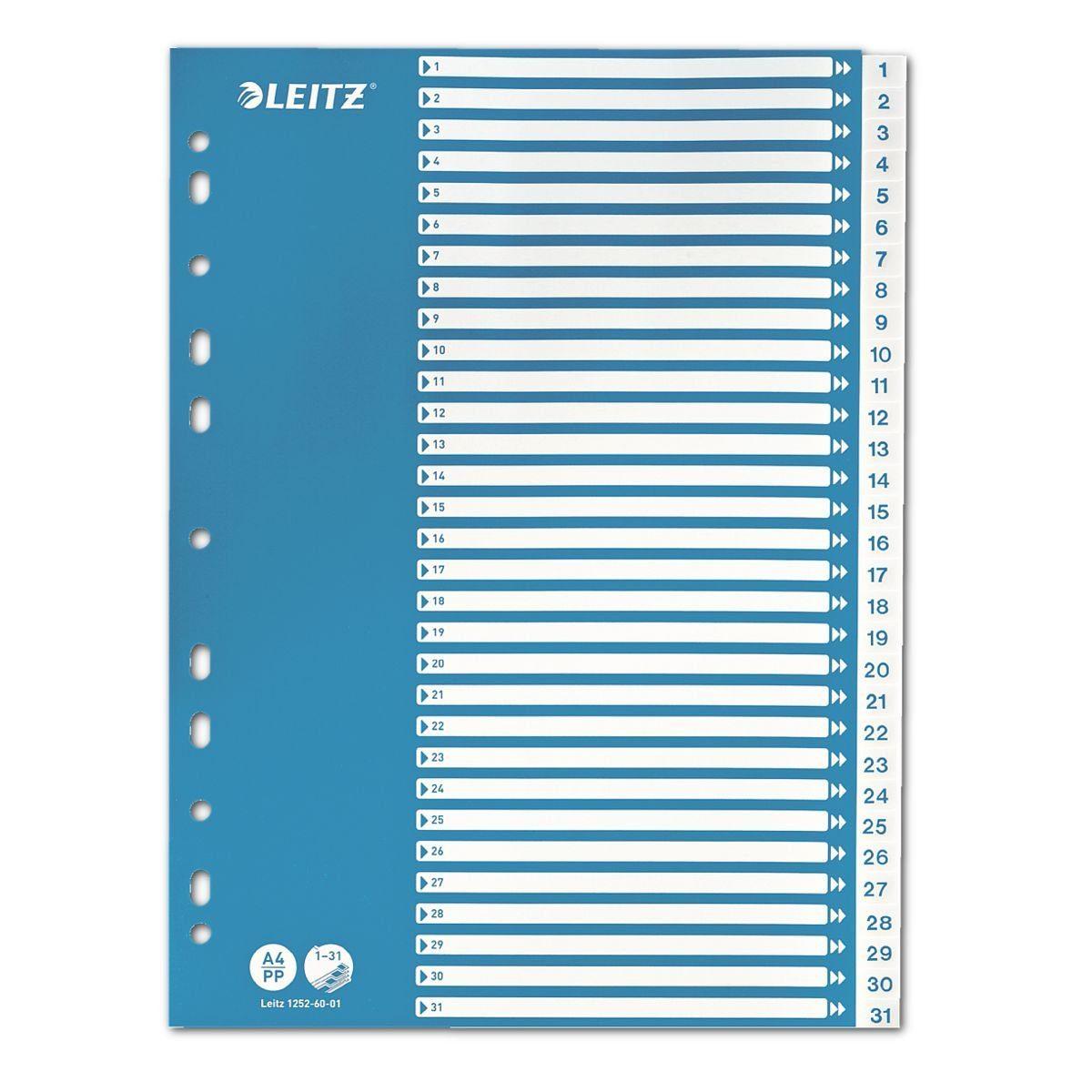 Leitz Kunststoffregister 1-31 A4 »1252«