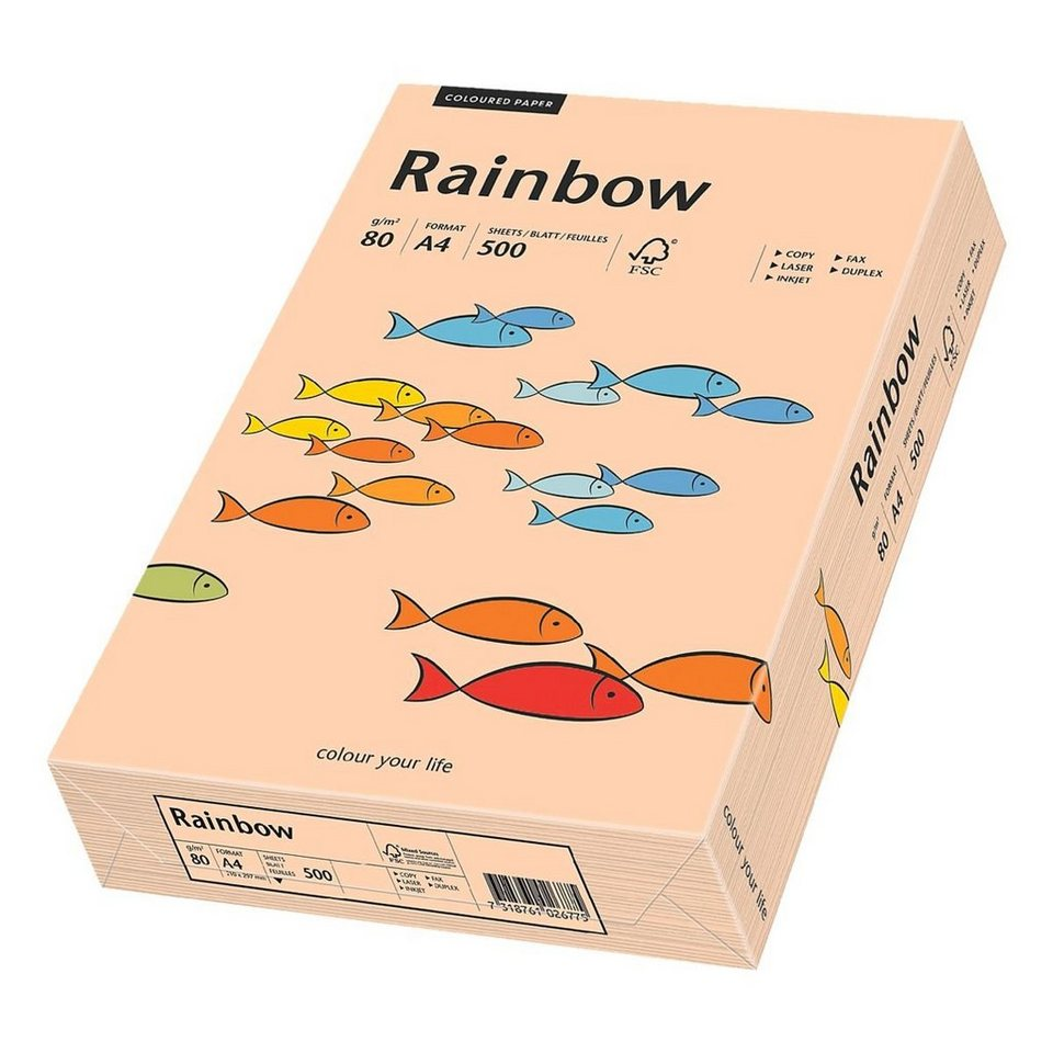 Papyrus Farbige Papiere »Rainbow« in lachs