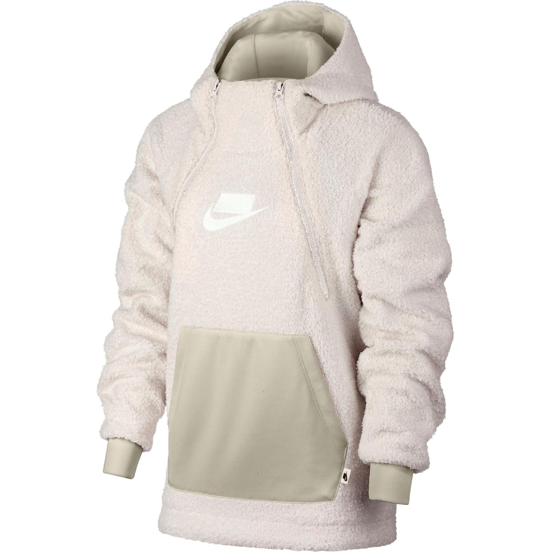 Nike Sportswear W Hoodie Damen weißgold im Online Shop von