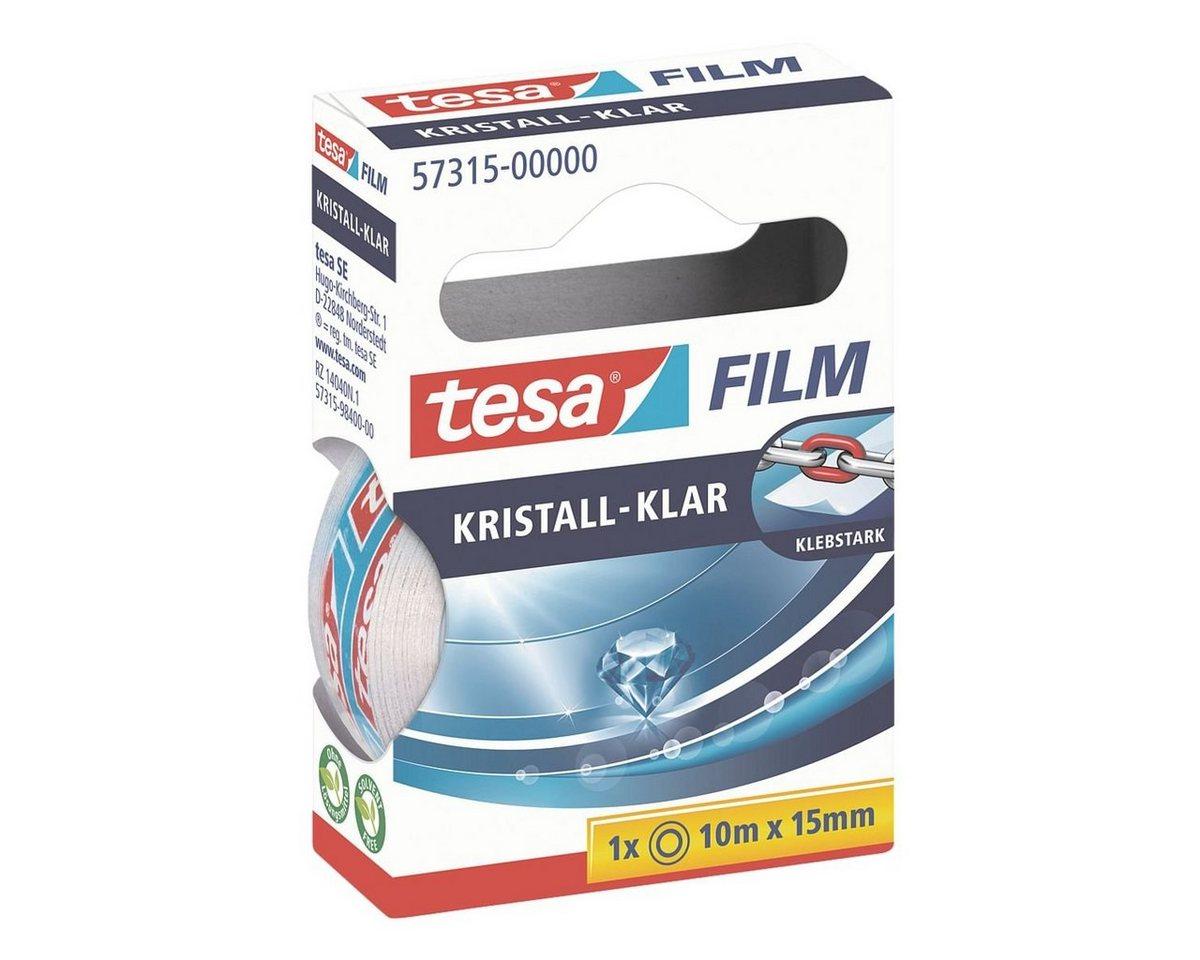 Tesa Klebeband transparent 57315, 15 mm/10 m (B/L) »kristall-klar«
