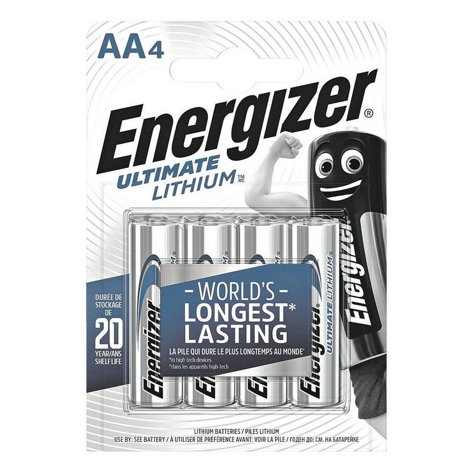 Energizer Batterien »Ultimate Lithium« Mignon / AA / FR6