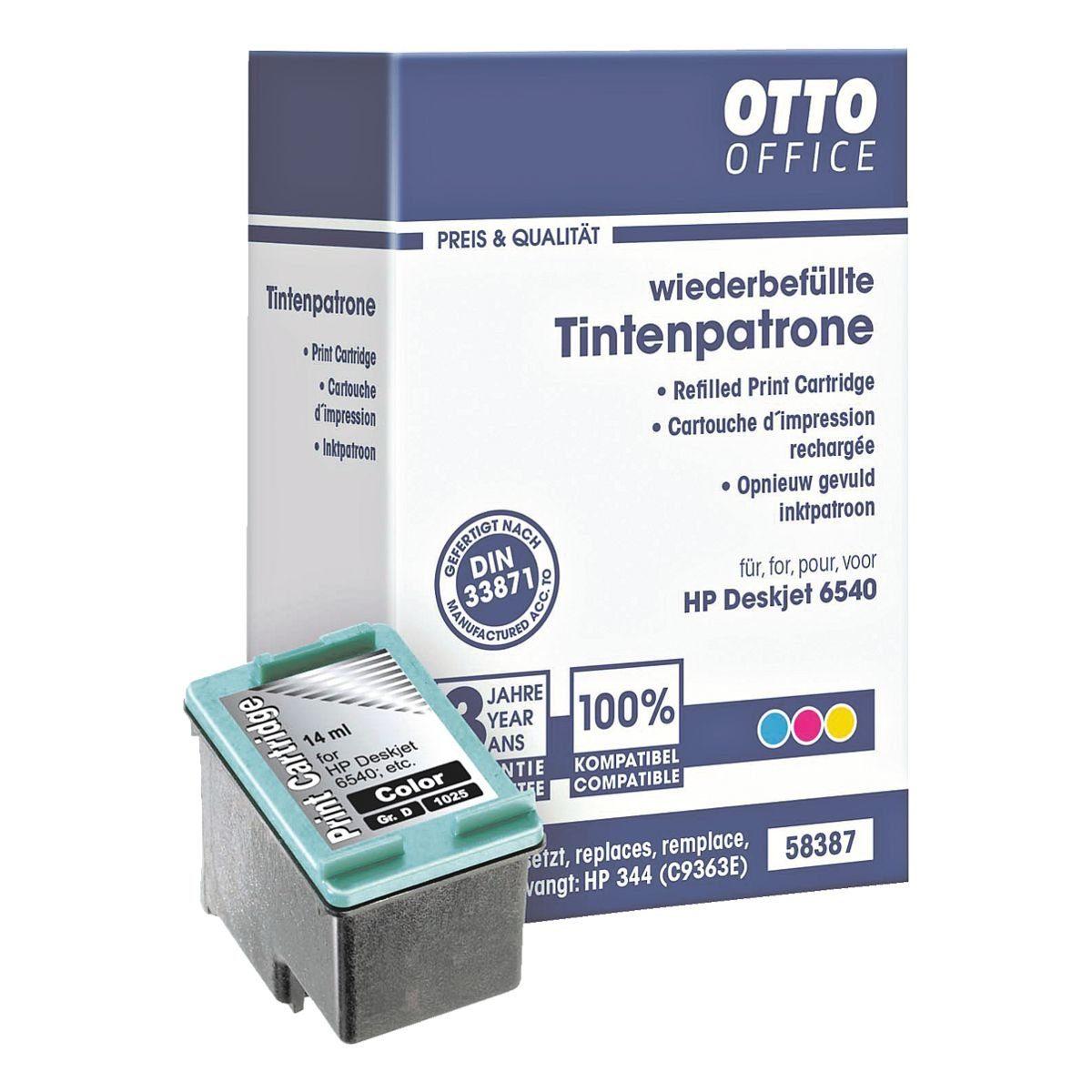 OTTO Office Standard Tintenpatrone ersetzt HP »C9363EE« Nr. 344
