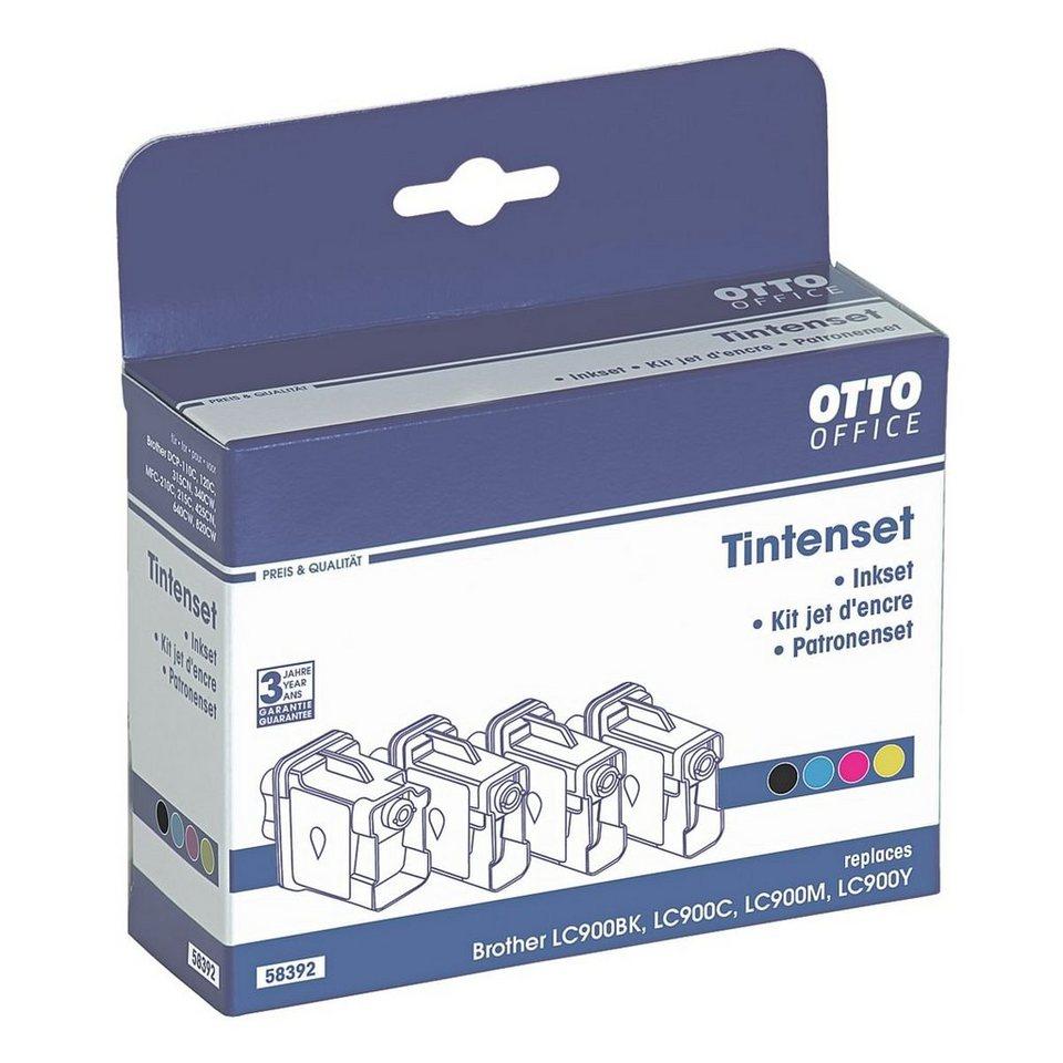 otto office standard tintenpatronen set ersetzt brother lc900 online kaufen otto. Black Bedroom Furniture Sets. Home Design Ideas