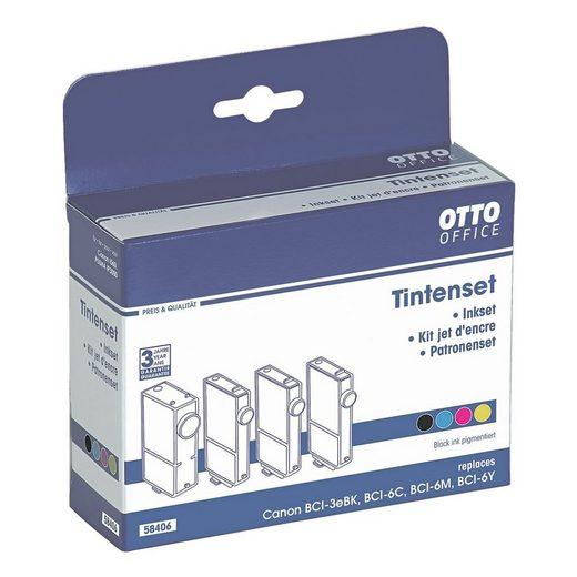 OTTOOFFICE STANDARD Tintenpatronen-Set ersetzt Canon »BCI-3eBK / BCI-6«