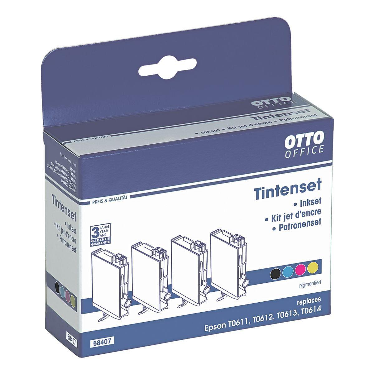 OTTO Office Standard Tintenpatronen-Set ersetzt Epson »T0615«