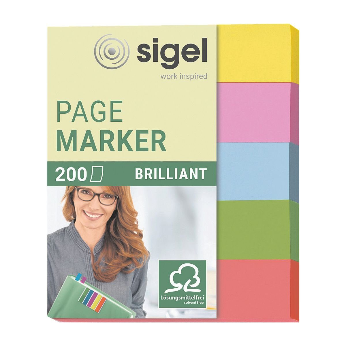 Sigel Haftmarker HN625 50 x 12 mm »Brilliant«