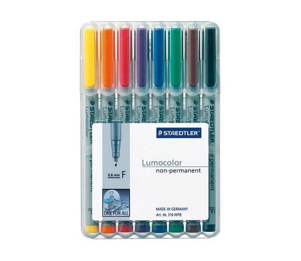 Staedtler 8er-Pack Universalstifte »Lumocolor non-permanent«
