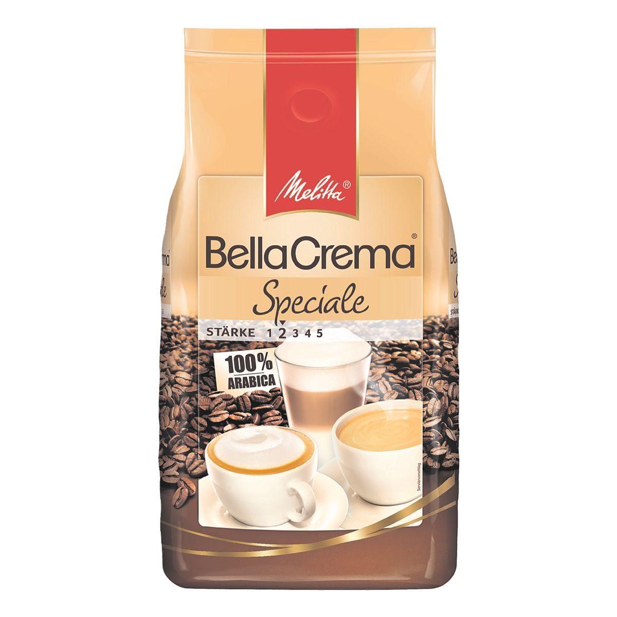 Melitta Kaffee - ganze Bohnen »Bella Crema Speciale«