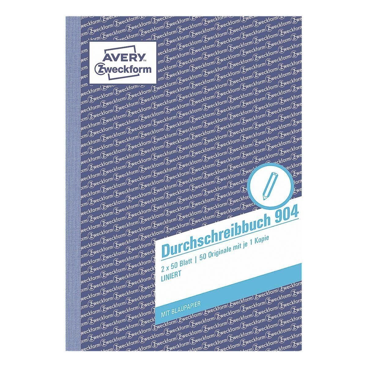 Avery Zweckform Formularbuch »Durchschreibebuch«