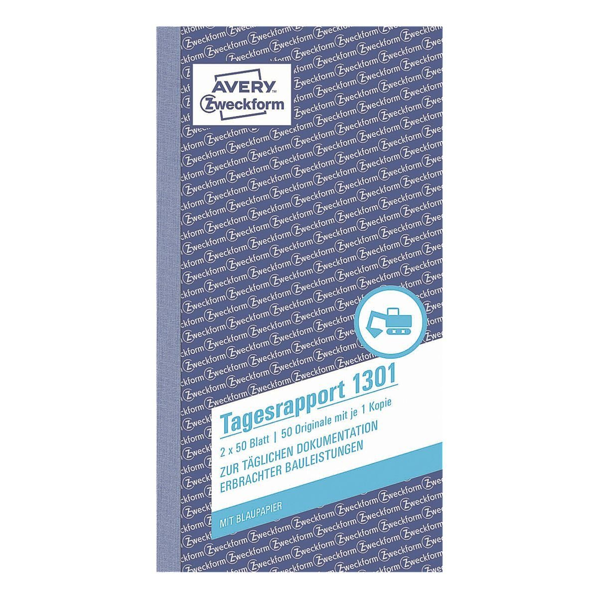 Avery Zweckform Formularbuch »Tagesrapport«