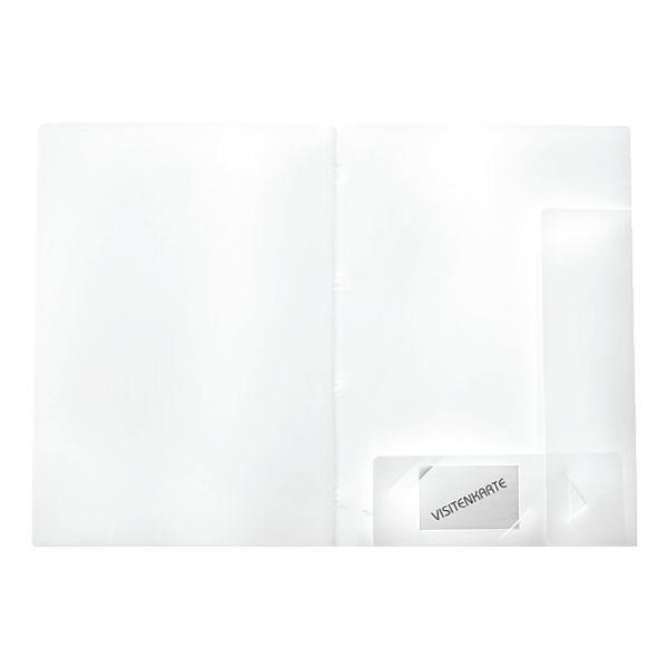 Foldersys Angebotsmappe in weiß