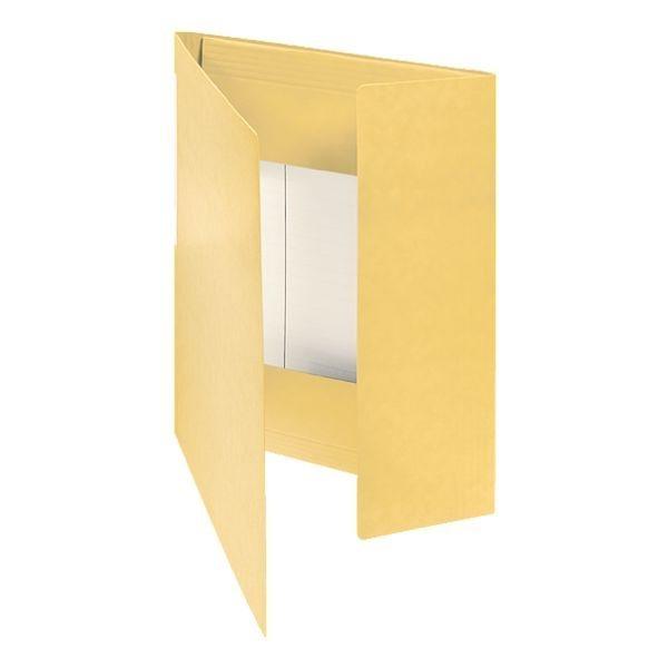 Foldersys Eckspannermappe in gelb