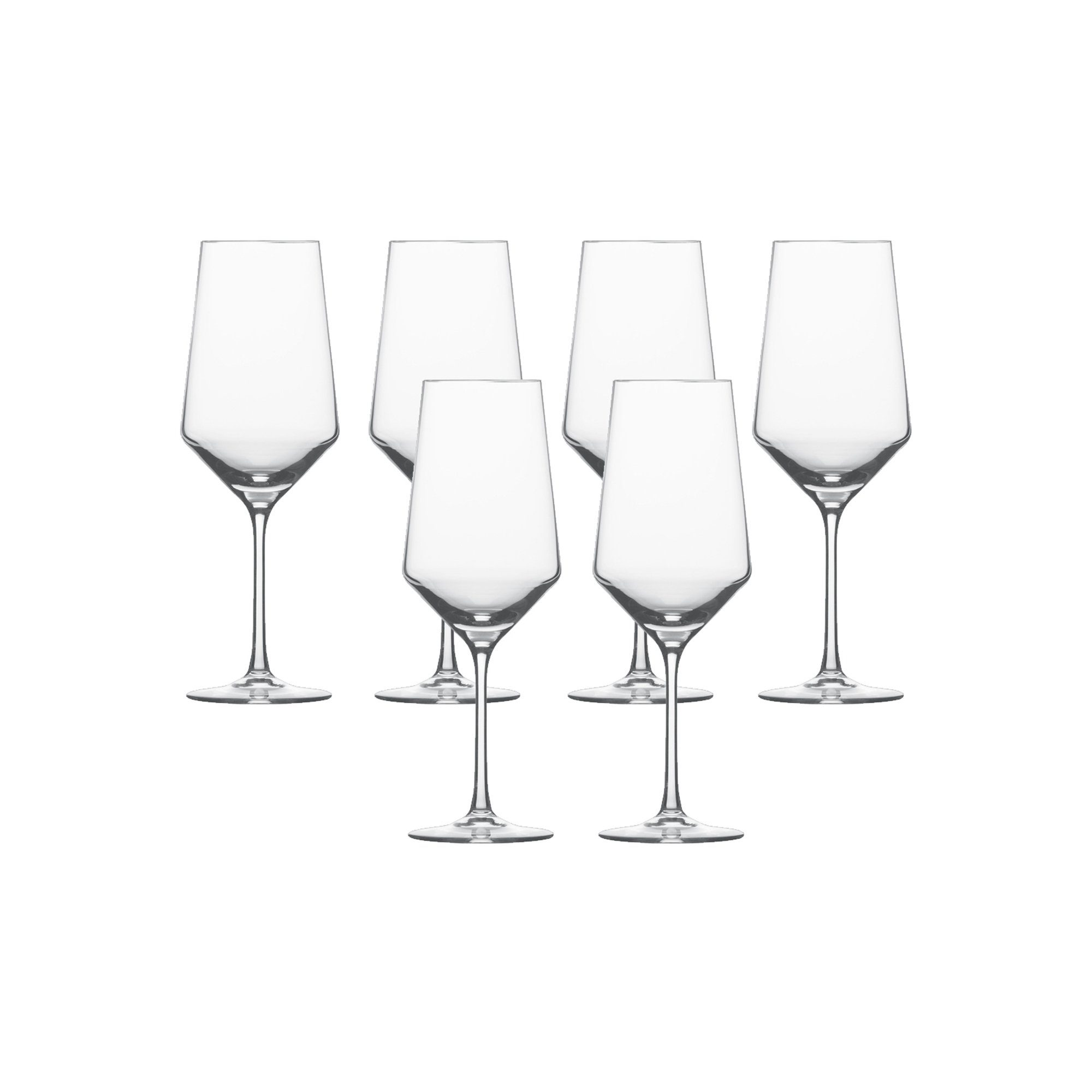 Bordeaux Glas 6er-Set »Pure«