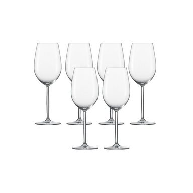 Bordeaux Glas 6er-Set »Diva«