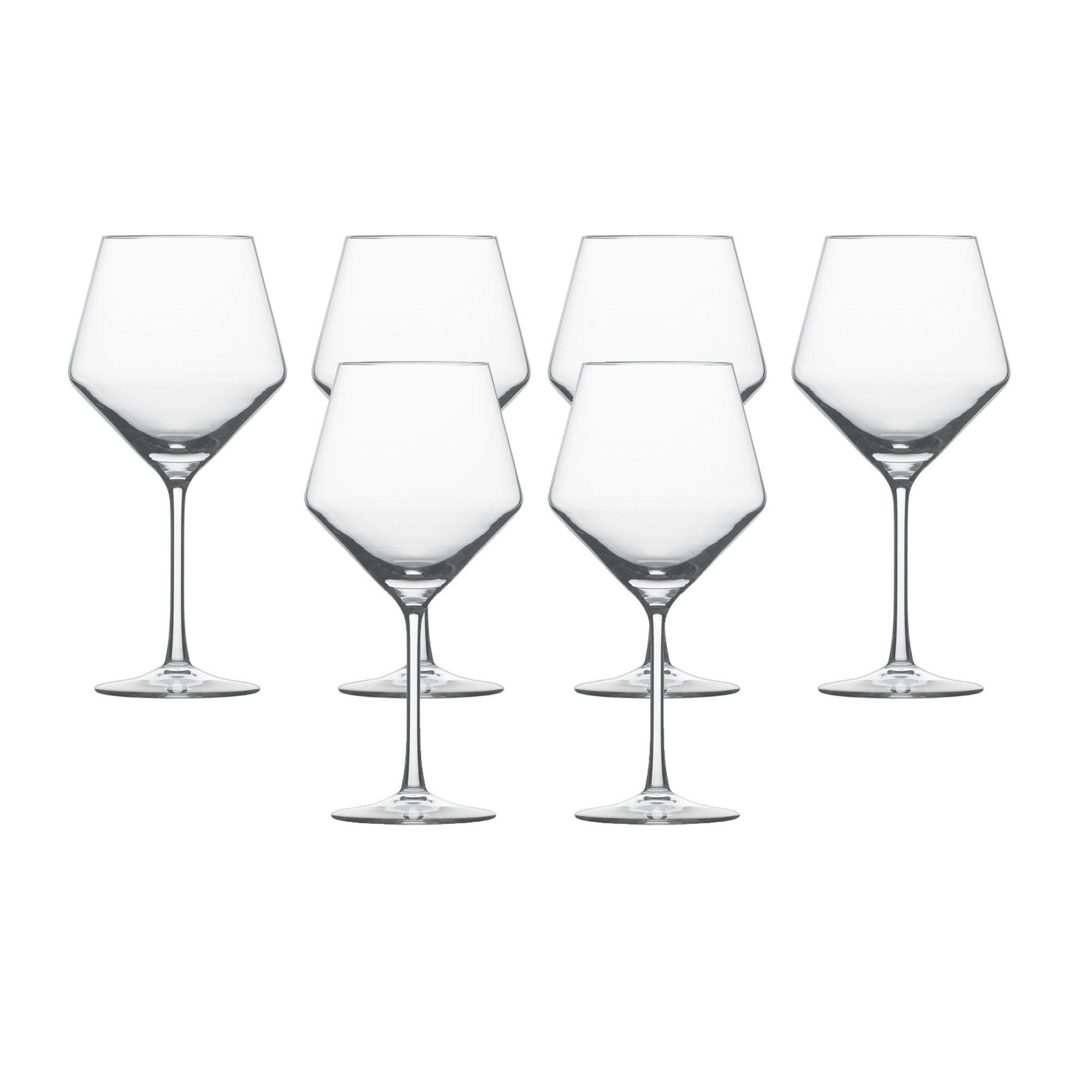 Burgunder Glas 6er-Set »Pure«