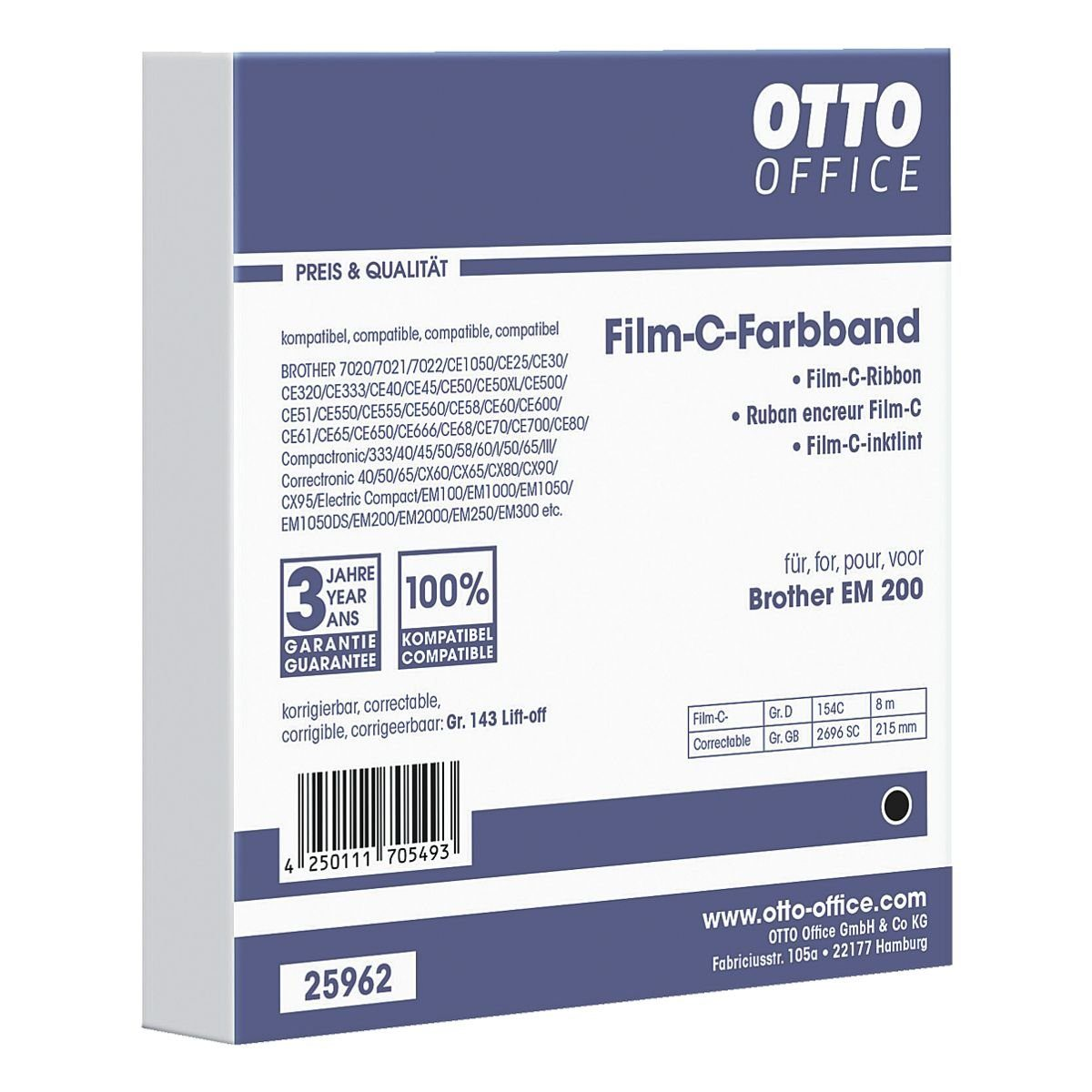 OTTO Office Carbon-Farbband
