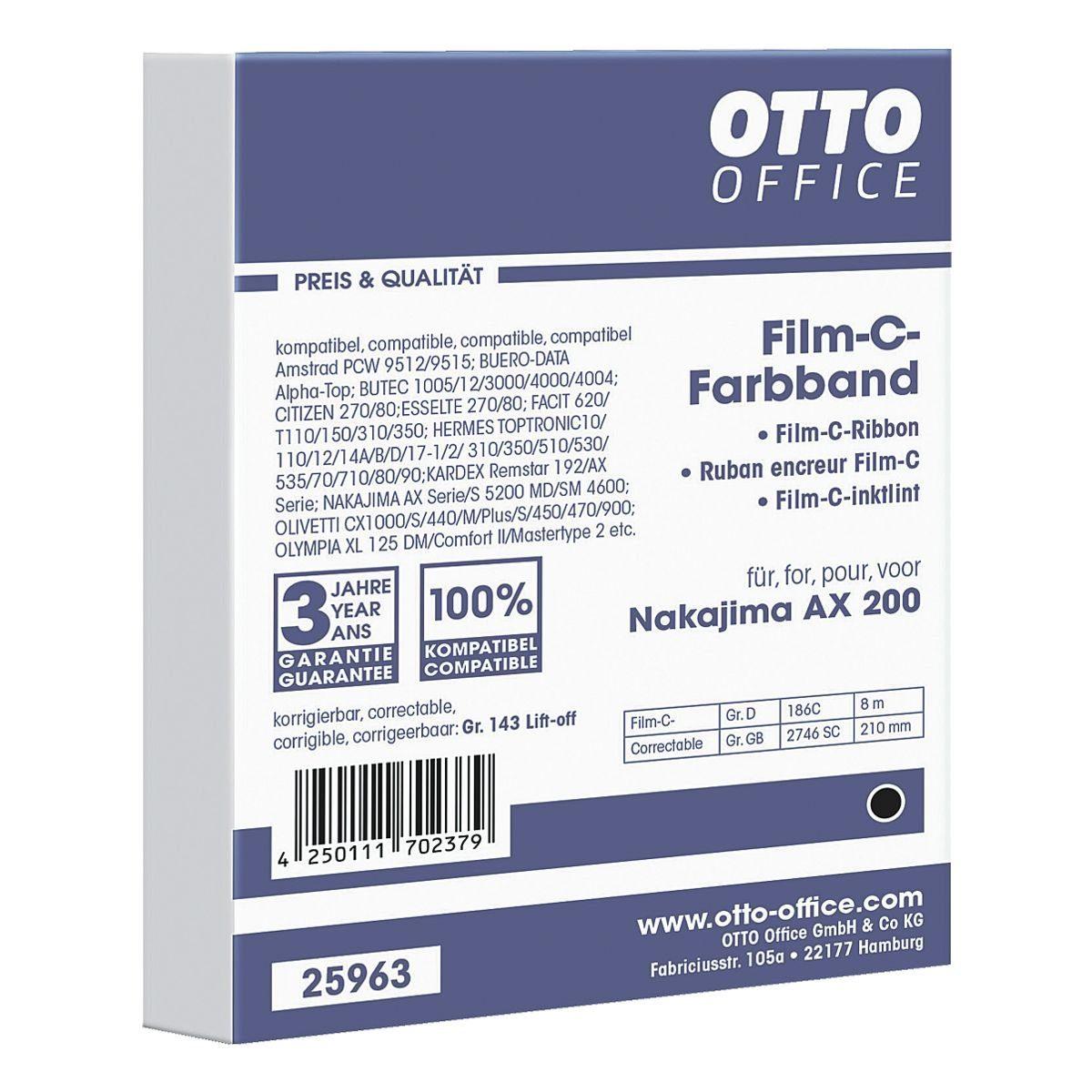 OTTO Office Standard Schreibmaschinenband