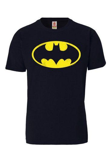 LOGOSHIRT T-Shirt mit hochwertigem Aufdruck »Batman Logo«