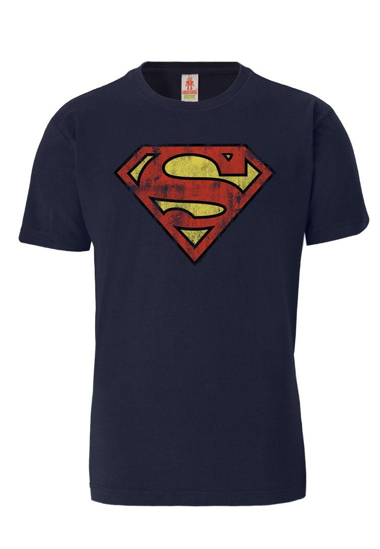LOGOSHIRT T-Shirt aus biologischem Material »Superman«