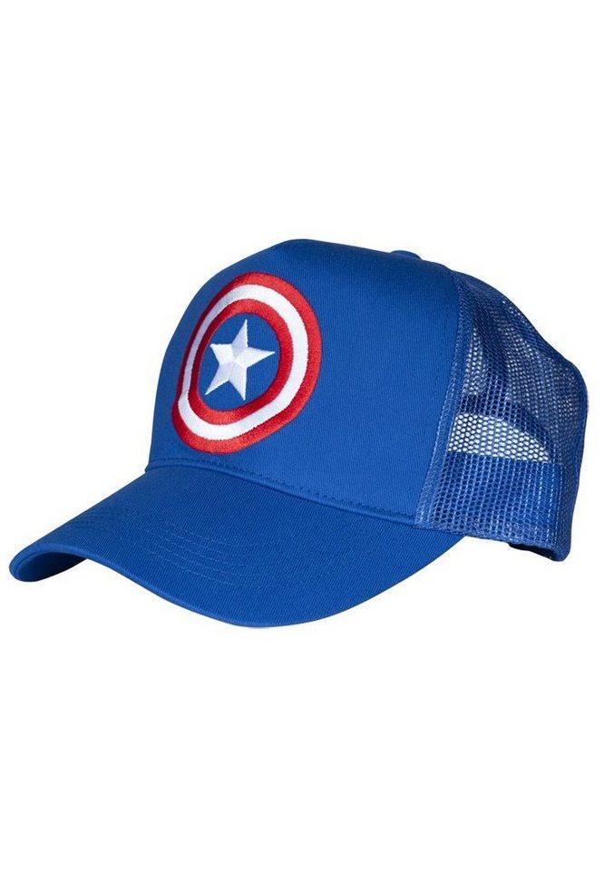 LOGOSHIRT Kappe mit Captain America-Logo