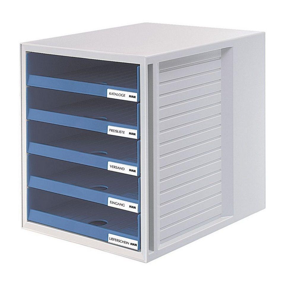 HAN Schubladenbox in grau/blau