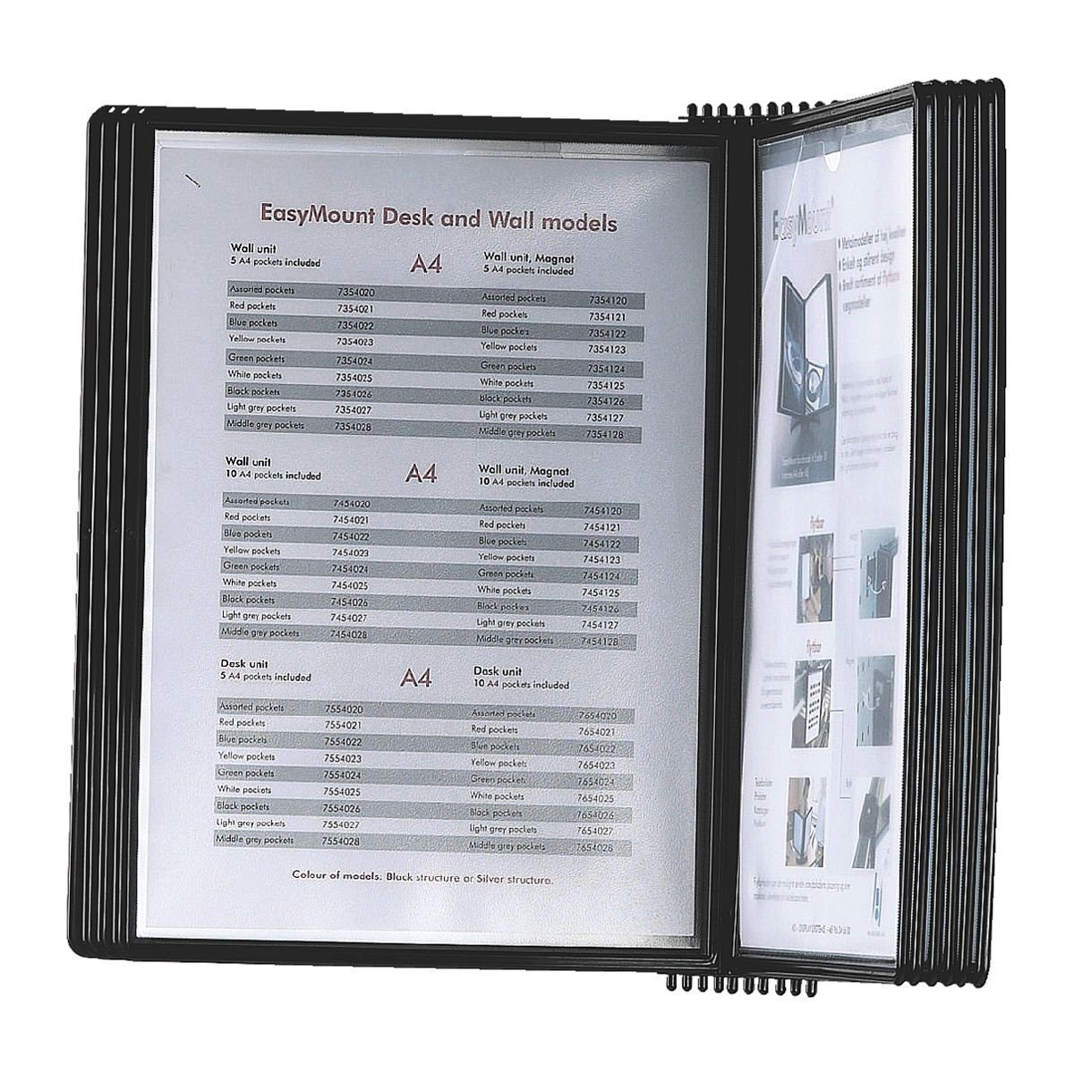 OTTO Office Standard Sichttafelwandhalter