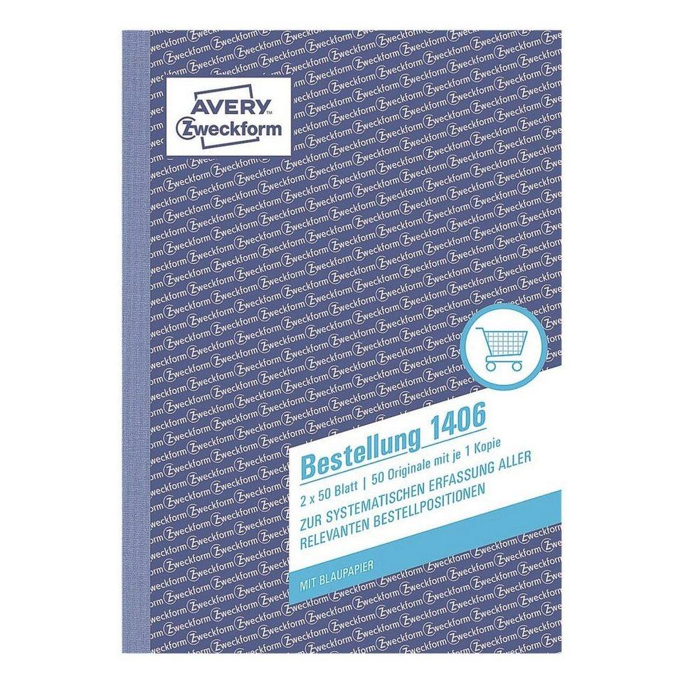 Avery Zweckform Formularbuch »Bestellung«