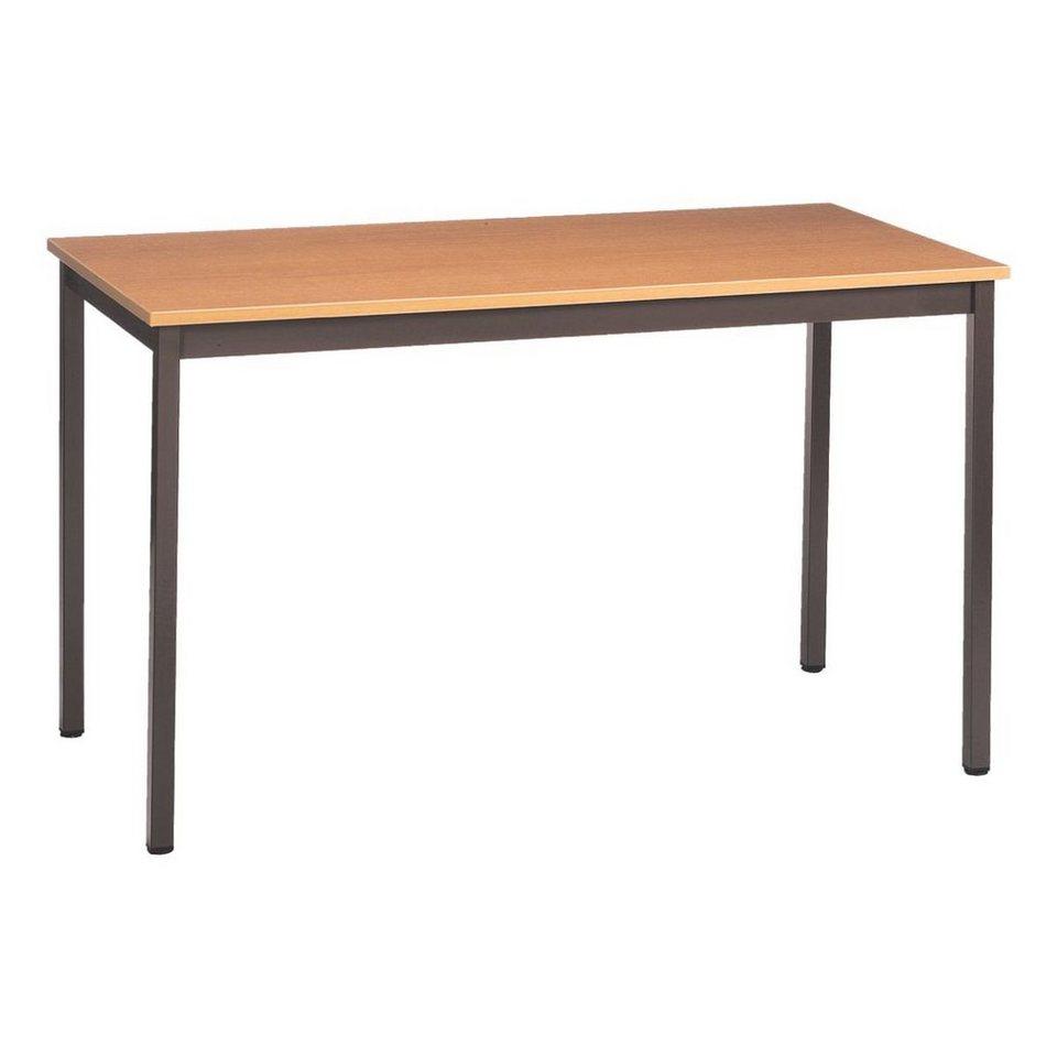 Schreibtisch in birnbaum