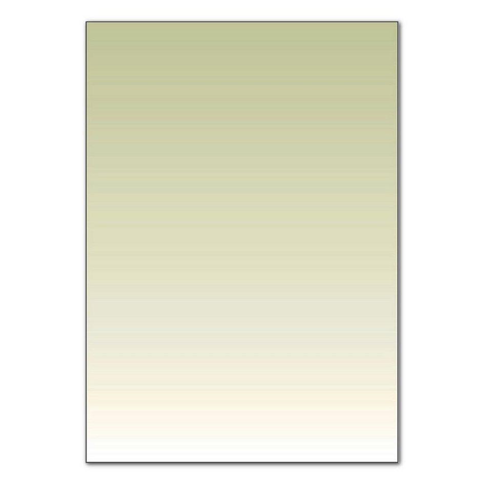 Sigel Farbverlauf-Papier in lindgrün