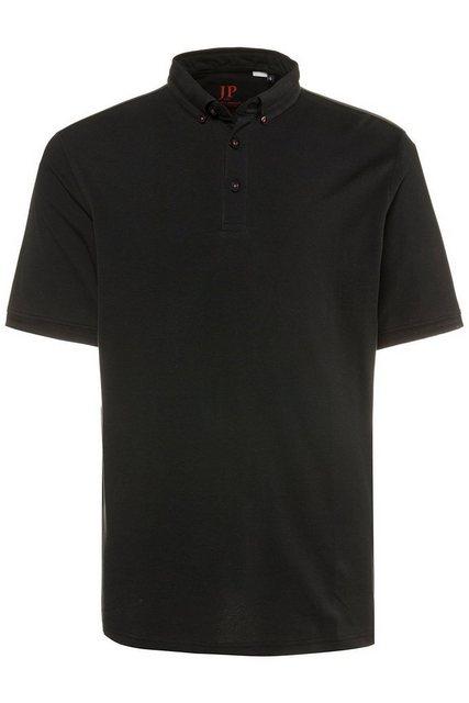 jp1880 -  Poloshirt bis 7XL, Poloshirt, T-Shirt mit Buttondown-Kragen, Halbarm, gerade Form, Piqué, reine Baumwolle