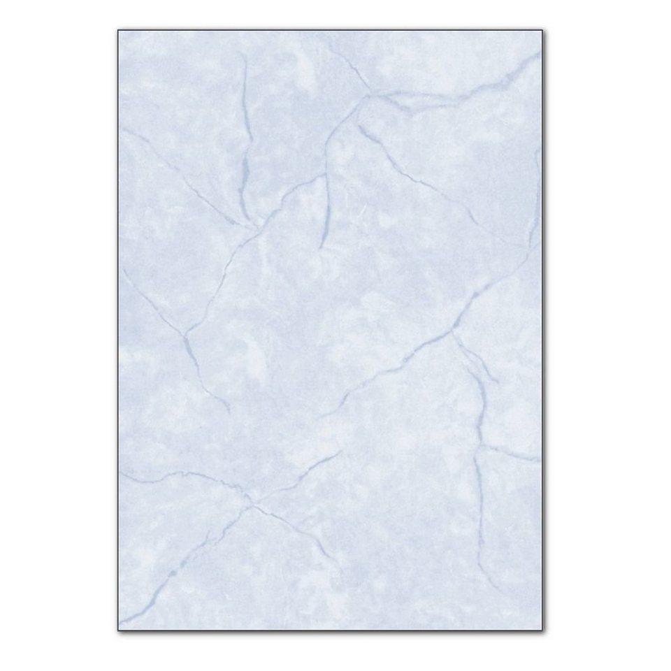 Sigel Granitpapier in blau