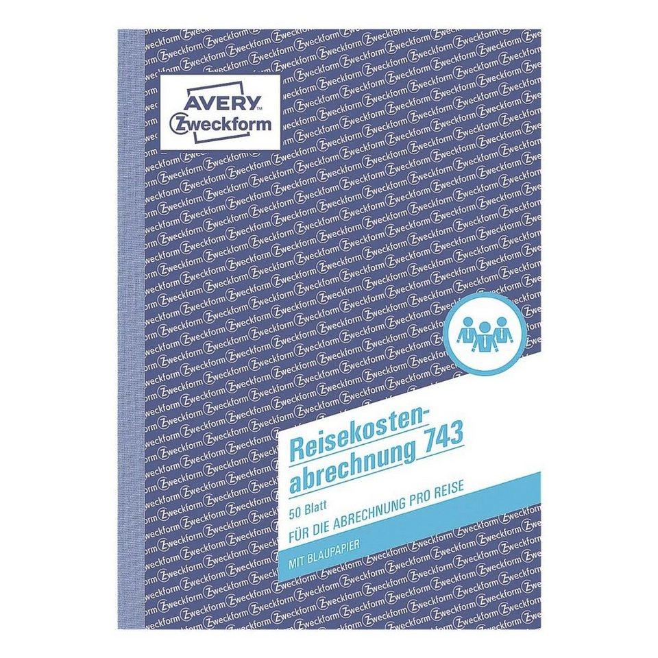 Avery Zweckform Formularbuch »Reisekostenabrechnung«