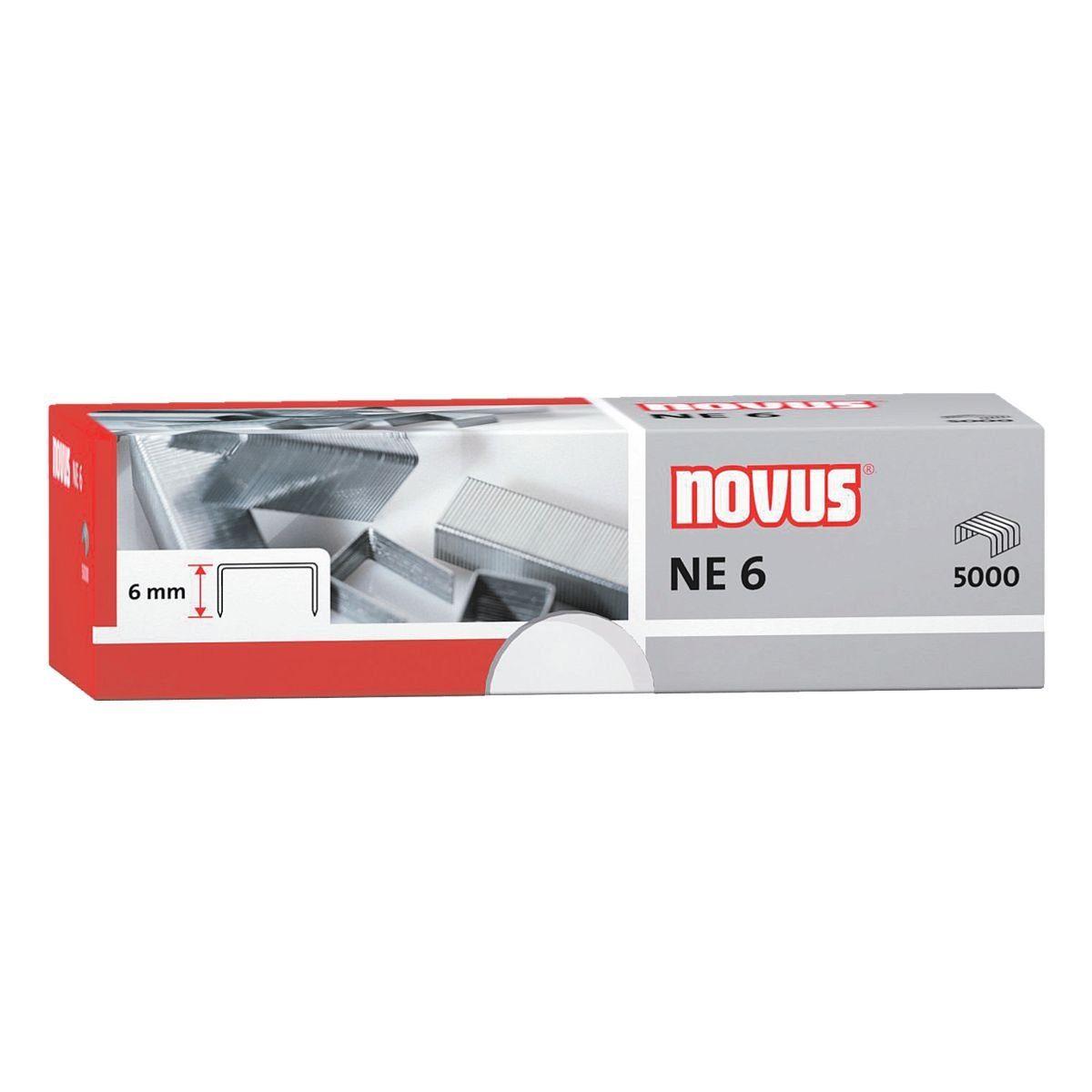 Novus Heftklammern für Blockhefter 042-0000 »NE 6«
