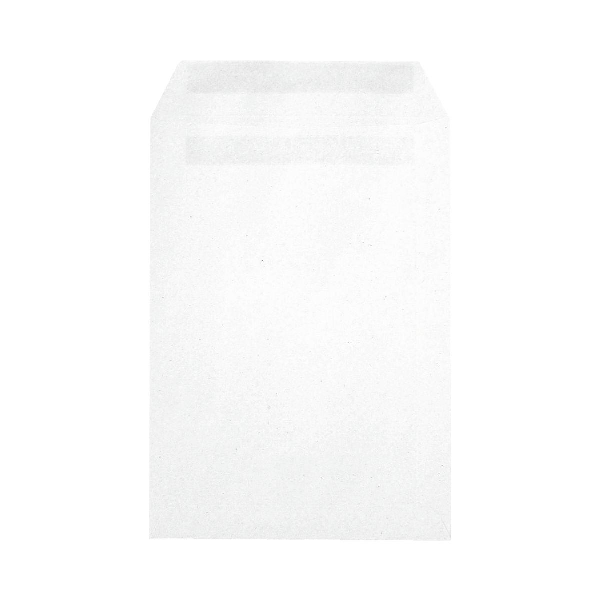 Recycling-Briefumschläge C5 ohne Fenster mit Selbstklebung