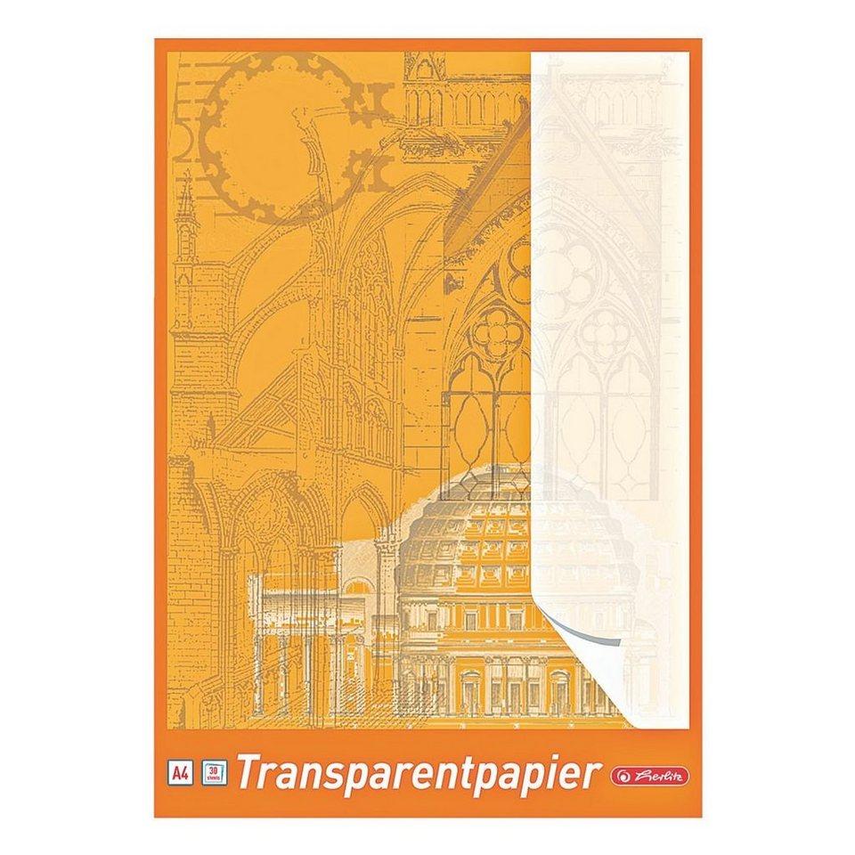 Herlitz Transparentpapier
