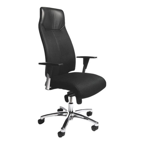 Topstar Bürostuhl »High Sit Up« mit Armlehnen in schwarz