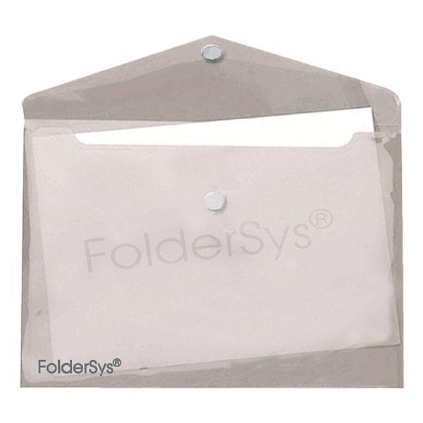 Foldersys Aktentaschen in rauchglas gerippt