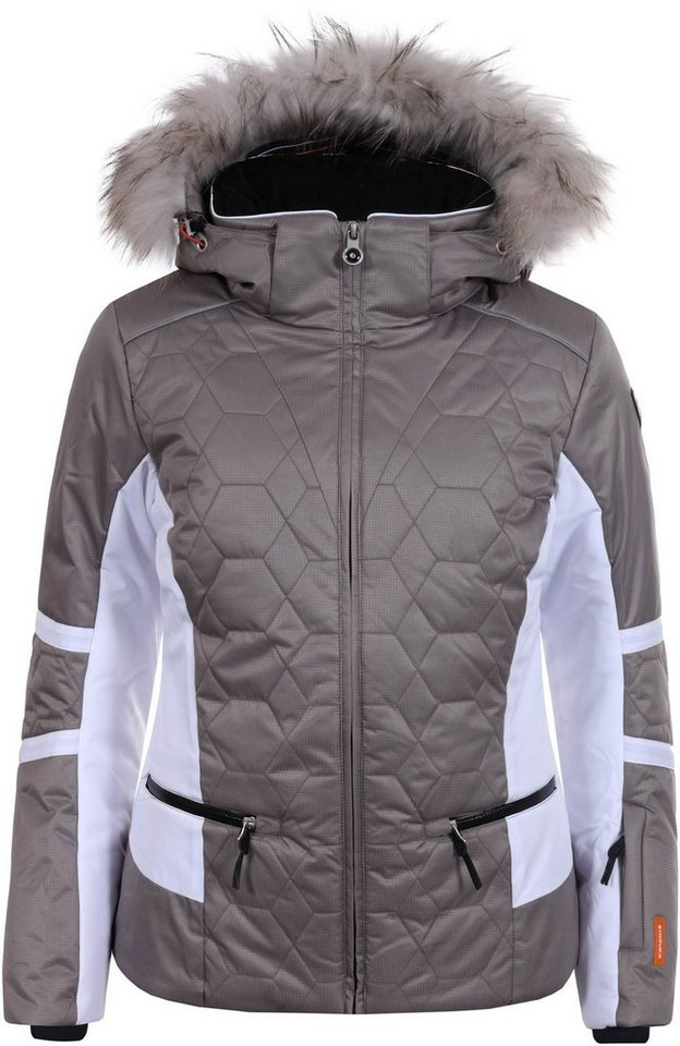 Damen Icepeak Skijacke braun | 06413687358274